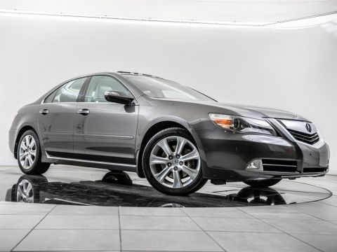 Pre-Owned 2009 Acura RL Navigation, Moonroof, Rear View Camera, Htd Sts