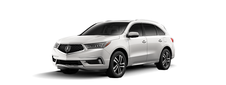 New Acura MDX Sport Hybrid Sport Hybrid SHAWD With Advance - Acura hybrid 2018