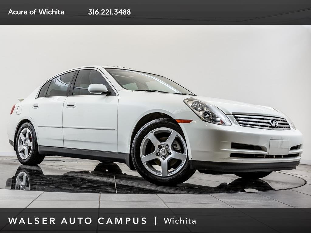 Pre-Owned 2004 INFINITI G35 Sedan Moonroof, Alloy Wheels, Premium Pkg, Aero Pkg