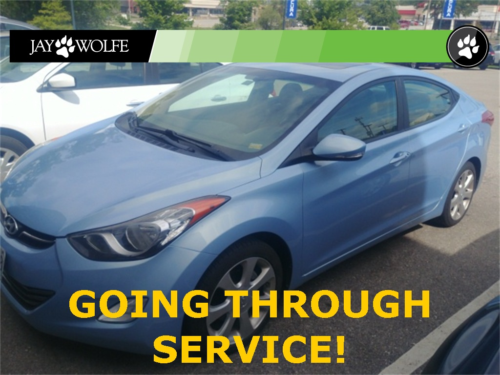 Pre-Owned 2011 Hyundai Elantra Limited