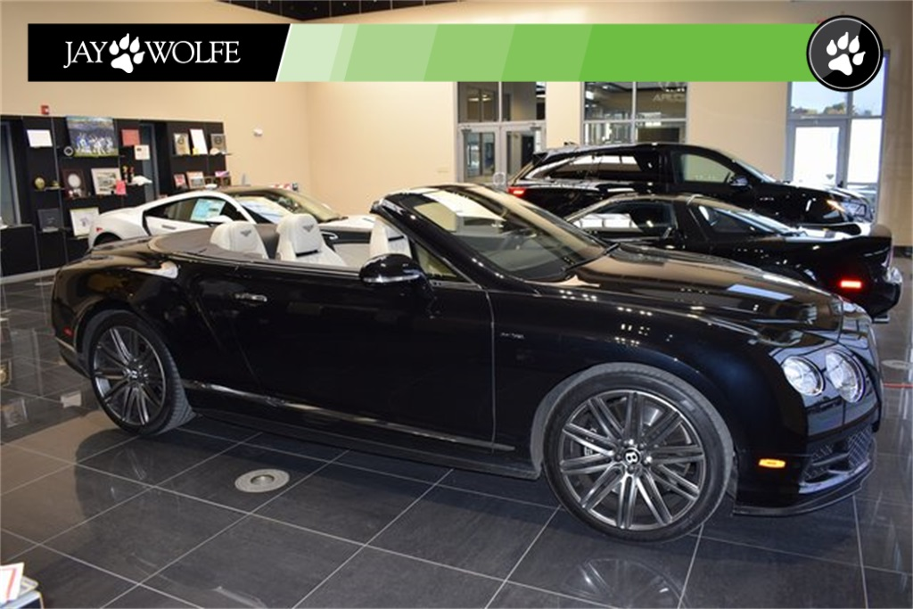 Pre-Owned 2014 Bentley Continental GTC Speed