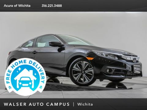 Pre-Owned 2017 Honda Civic Coupe EXT