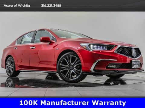 Certified Pre-Owned 2018 Acura RLX Sport Hybrid SH-AWD with Advance Package